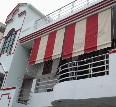 Vertical Awnings Manufacturers